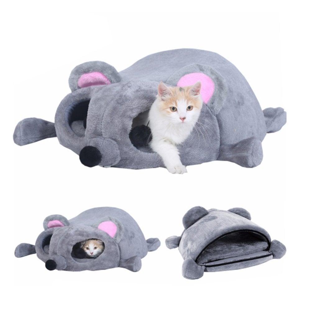 Cartoon Mouse Cat House