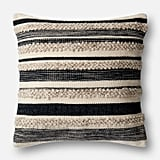 Pier 1 Imports Magnolia Home Zander Charcoal Oversized Pillow