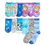 Disney's Frozen 2 Girls 4-6x 12 Days of Socks Advent Calendar Box