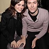 Rachel Bilson and Adam Brody