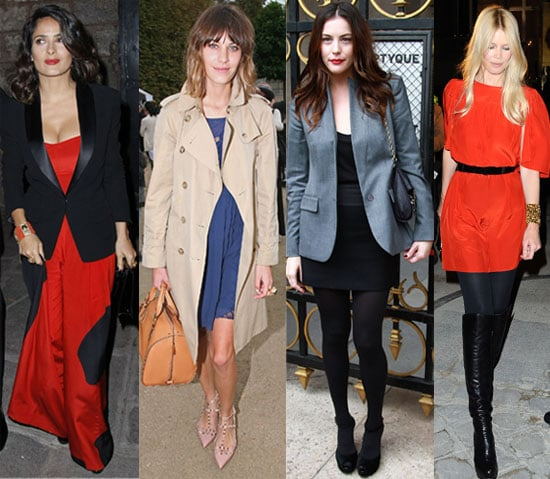 Pictures from Paris Fashion Week