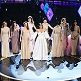 Gisela Castellan, Lisa Stokke, Anna Buturlina and Maria Lucia Rosenberg at the 2020 Oscars