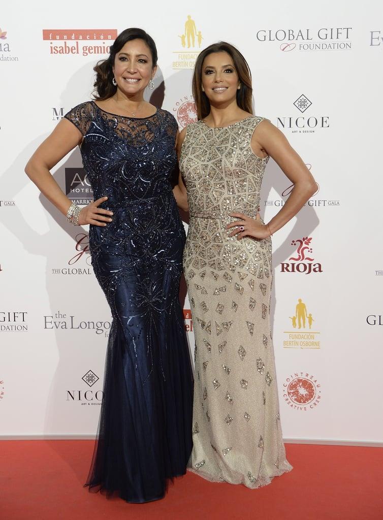 41003fcea32 Eva Longoria at the Global Gift Gala 2016