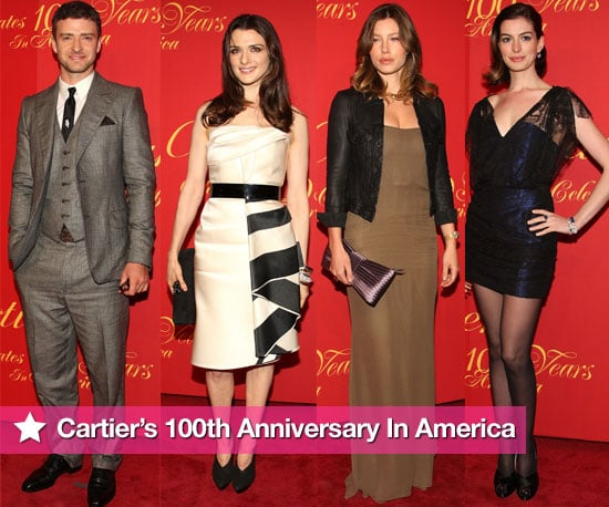 Photos Of Cartier 100th Anniversary In America Celebration Featuring Justin Timberlake, Kate Hudson, Jessica Biel, Anne Hathaway