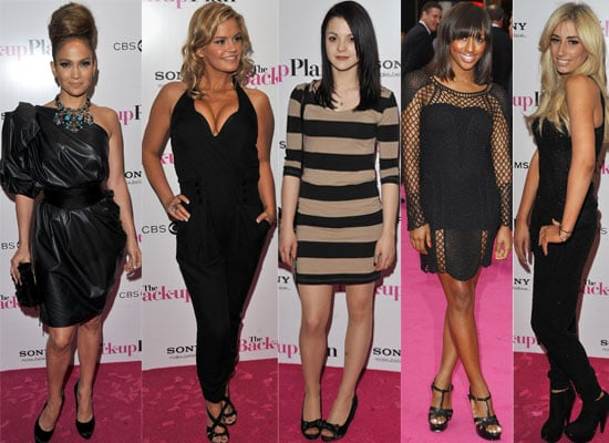 Photos from The Back-Up Plan London Premiere with Jennifer Lopez, Kerry Katona, Skins Star Kathryn Prescott, Alexandra Burke