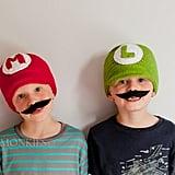 Super Mario and Luigi Hat Set