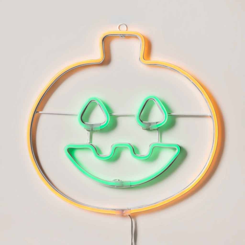 LED Pumpkin Neon Rope Halloween Silhouette Light