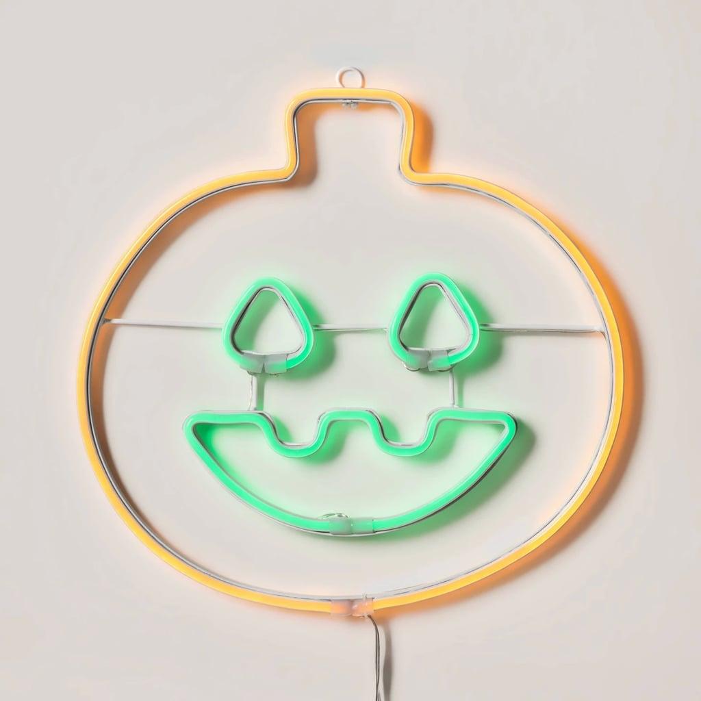 LED Pumpkin Neon Rope Halloween Silhouette Light