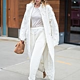 Gigi Wearing All White