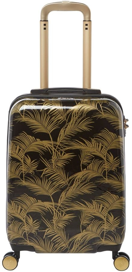 Biba Jungle Palm Hard Cabin Suitcase