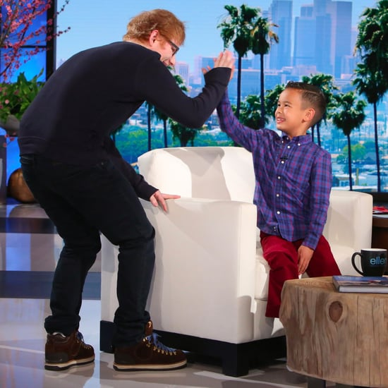 Ed Sheeran Meets Kai on The Ellen DeGeneres Show Feb. 2017