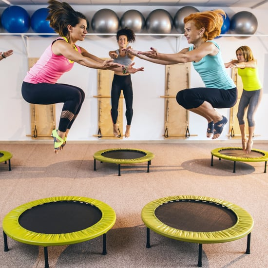 TrampolineWorkouts Are as Effective as Running, But Feel Easier and More Fun