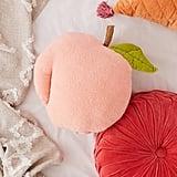 Fuzzy Peach Pillow