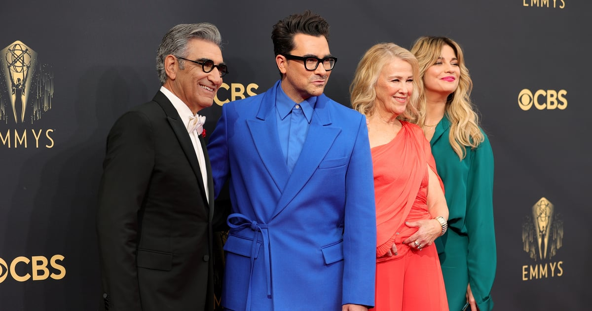 Bust Out the Fruit Wine! The Schitt's Creek Cast Had a Sweet Reunion at the Emmys.jpg