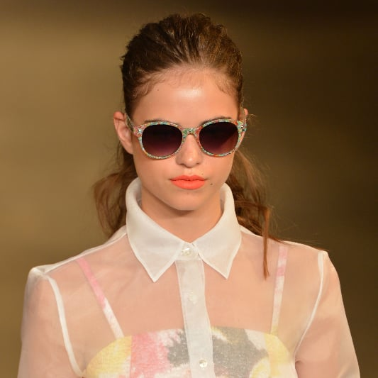 Christian Siriano Spring 2014 Hair and Makeup | Runway