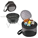 Charcoal Grill With Tote/Cooler