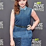 Chloë Moretz at the MTV Movie Awards.