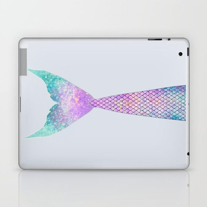 Mermaid Tail Laptop Skin