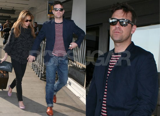 Photos of Robbie Williams and Ayda Field at LAX, Robbie's Friend Aaron Vickers Found Hanged in Woodland in Swindon