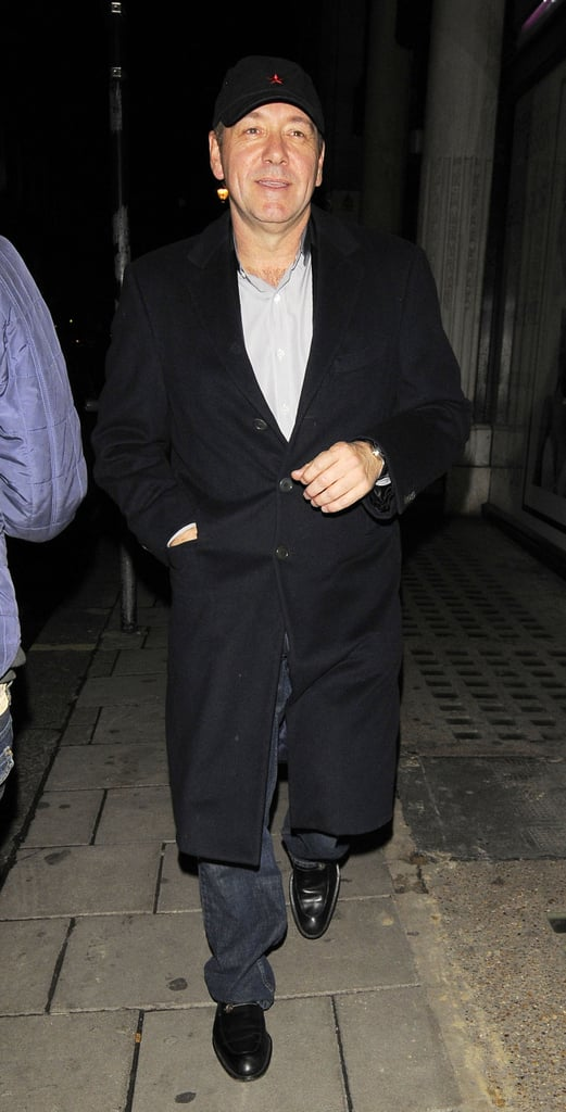 Photos of Kate Moss, Kevin Spacey and Rob Brydon at Chinawhite