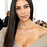 Kim Kardashian With No-Makeup Makeup in 2017