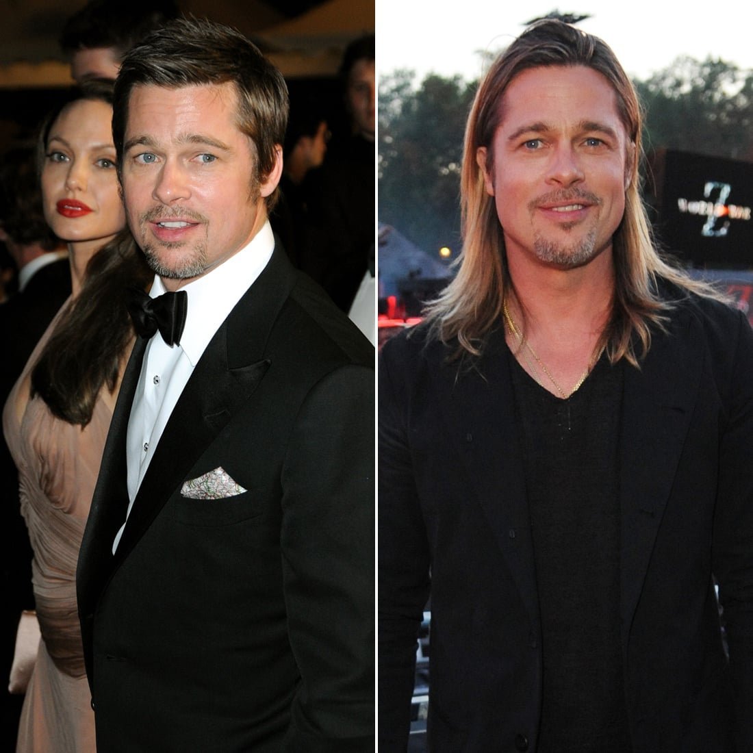 Brad Pitt Better With Long Or Short Hair Is Johnny Depp Hotter With Short Hair Popsugar Celebrity