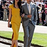 Amal Clooney Dress at Royal Wedding 2018
