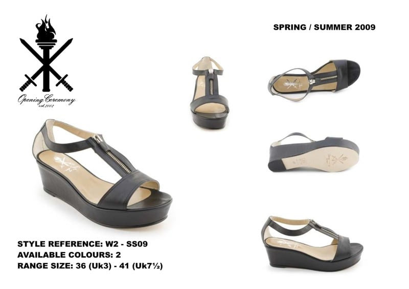Opening Ceremony Spring 2009 Shoes