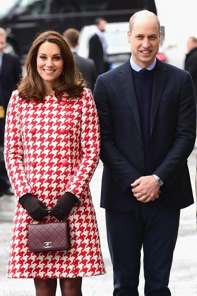 Kate Middleton's Houndstooth Catherine Walker Coat