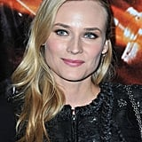 Diane Kruger smiled for photographers at the premiere.