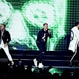 Backstreet Boys iHeartRadio Music Festival Performance Video