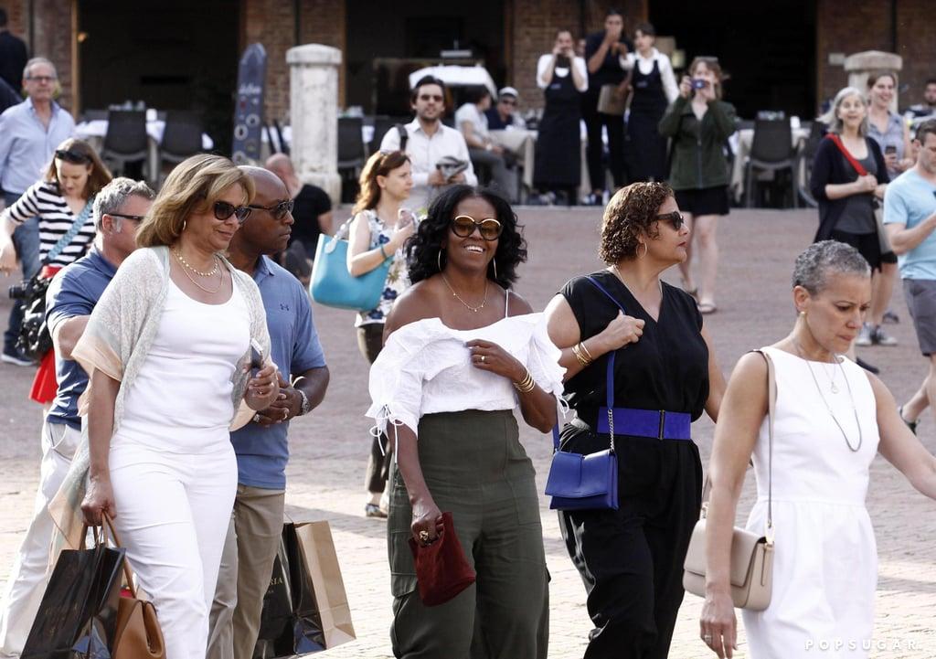Michelle Obama Simon Miller Bag