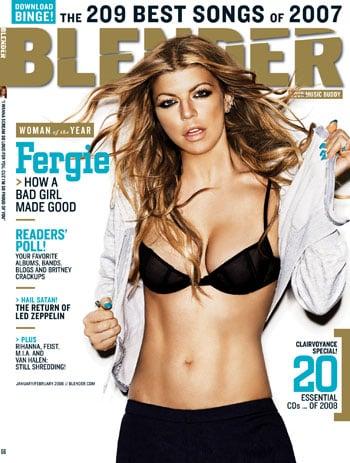 Fergie in Blender January 2008
