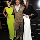 Nikki Reed, Peter Facinelli, and Ashley Greene had on big smiles for a Breaking Dawn screening.