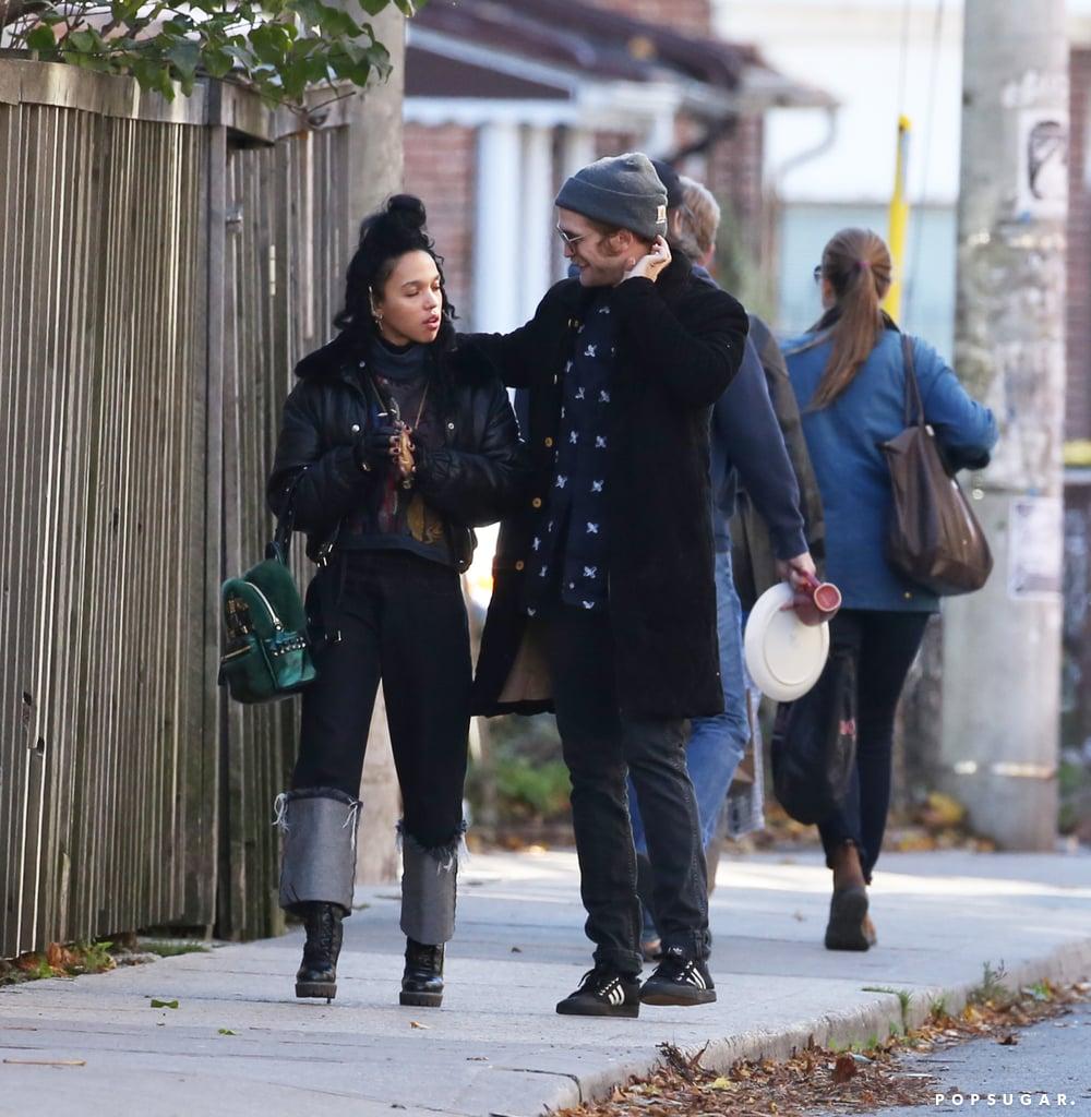 Robert Pattinson and FKA Twigs in Toronto | Photos