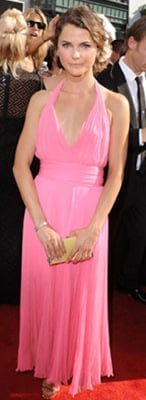 Keri Russell at the 2010 Primetime Emmy Awards