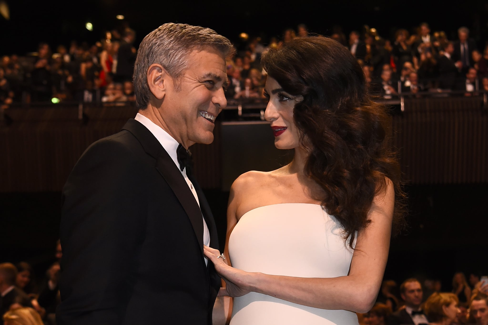 George Clooney and his darling officially sealed their relationship 09/29/2014 2