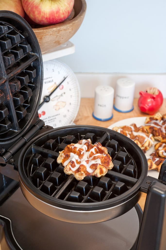 Make Cinnamon Roll Waffles