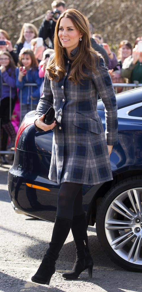 Plaid Power — The Mini Coat