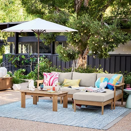 Playa Outdoor Reversible Sectional | West Elm Is Having a ...