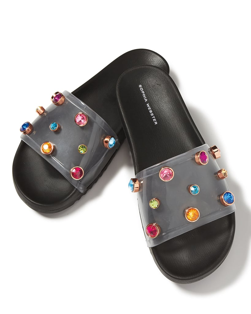Bedazzled slides