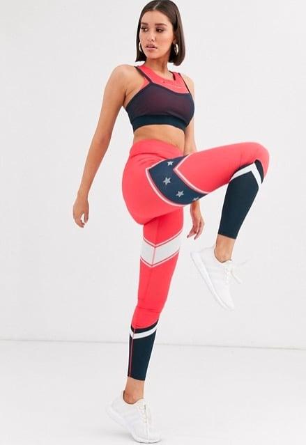 Tommy Hilfiger Sport Colourblock Leggings