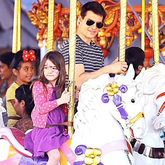 Tom and Suri Cruise Disneyland Pictures