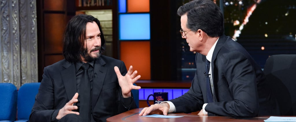 Keanu Reeves Answers Question About Death on The Late Show
