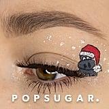 Elf on a Shelf Eyeliner Art