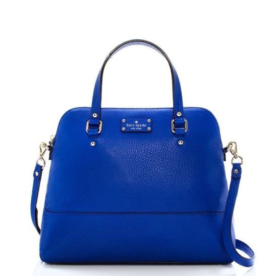 Nothing beats the gorgeous cobalt hue on this Kate Spade Grove Court satchel ($327, originally $468).
