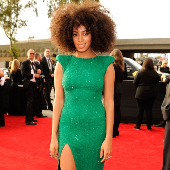 Solange Knowles | Grammys 2013 Red Carpet Dress
