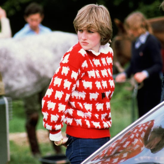 You Can Buy Princess Diana's Black-Sheep Sweatshirt