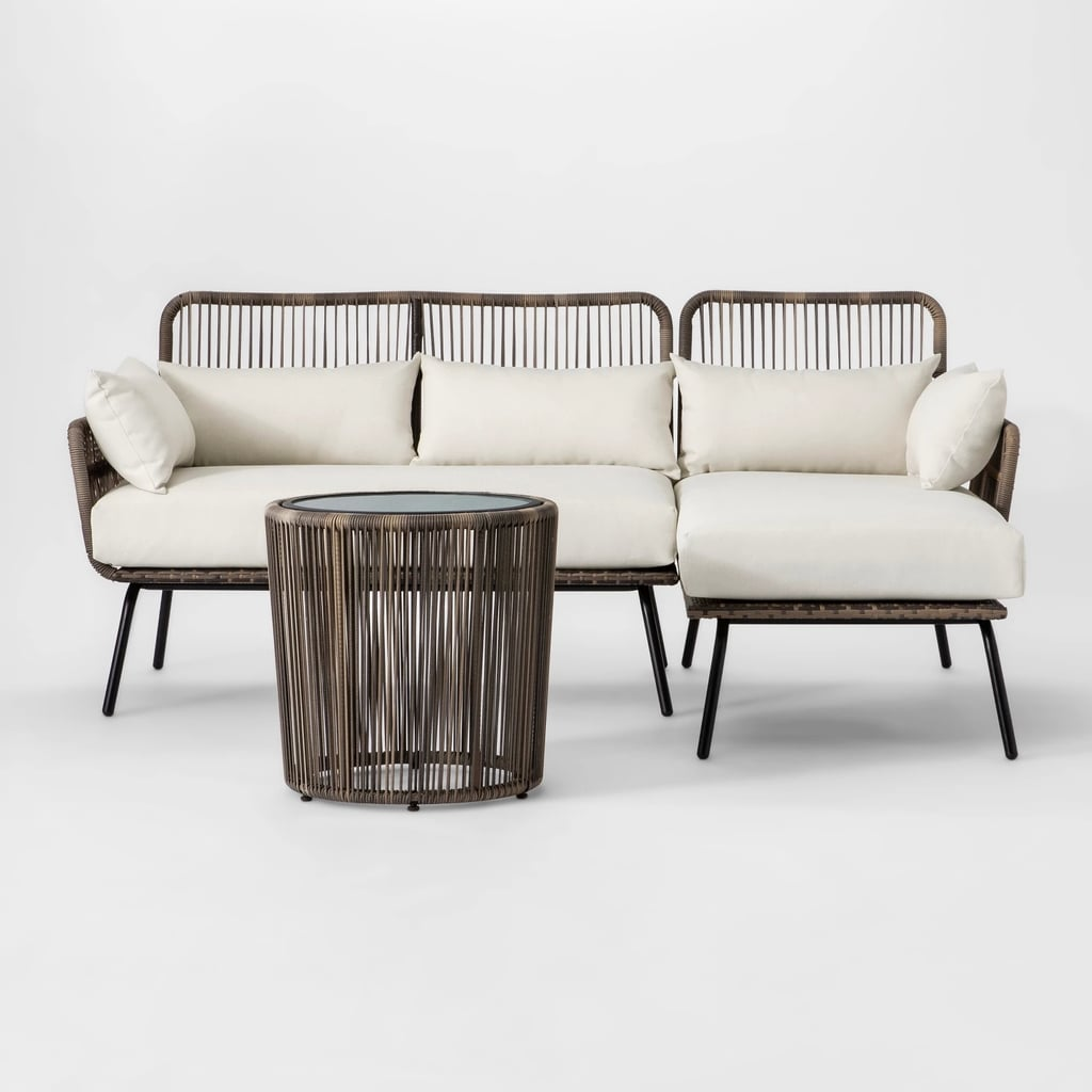Latigo Patio Sectional/Table Set