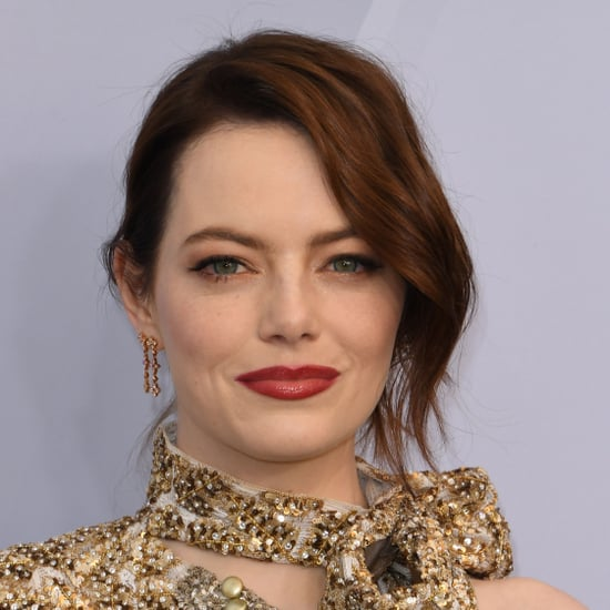 Emma Stone Makeup at Sag Awards 2019